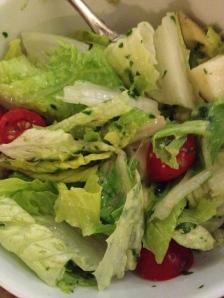 Cilantro Green Onion Lemongrass Ginger Vinaigrette