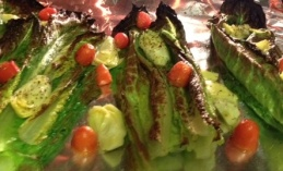 Broiled romaine after pic